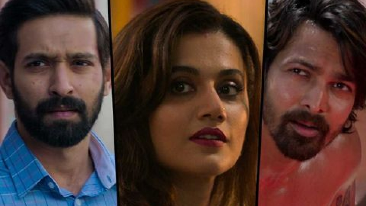 'Haseen Dillruba' trailer: Taapsee Pannu's love triangle murder mystery is full of turns and twists