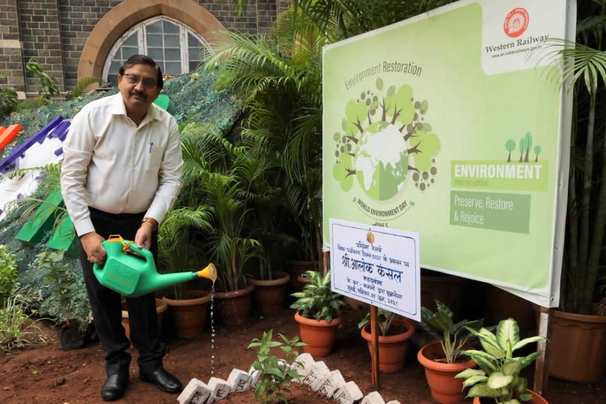 Western Railway observes World Environment Day