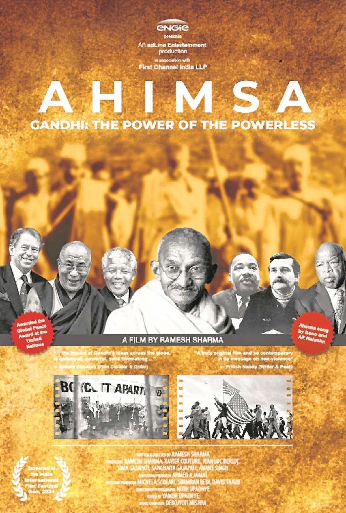 NYIFF 2021: Gandhi film honoured