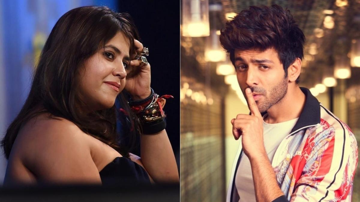 Kartik Aaryan asks fans 'kitna sexy dikh raha hu'; Ekta Kapoor replies