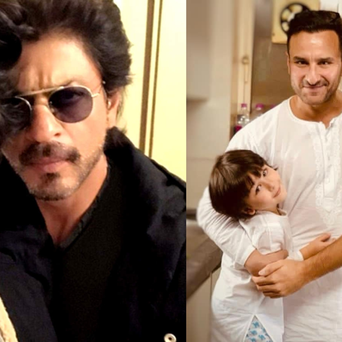 Father's Day 2021: From Aryan Khan to Ibrahim Ali Khan, celebrity kids who look just like their dads