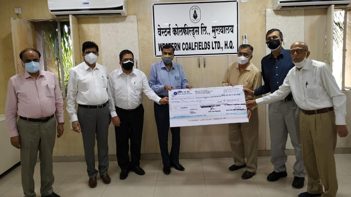 WCL provides Rs. 3 crore to RST Cancer Hospital, Nagpur