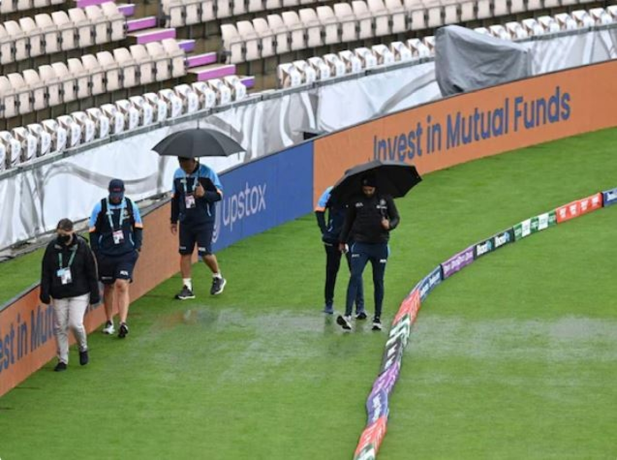 World Test Championship Final: Rain has stopped; Pitch inspection at 7.30 pm (IST)