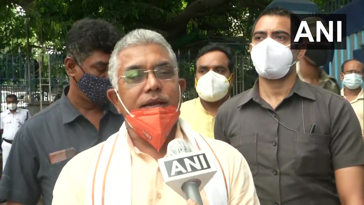 'For those who had come from a party where cut money and syndicate works...': Dilip Ghosh takes a jibe at Mukul Roy