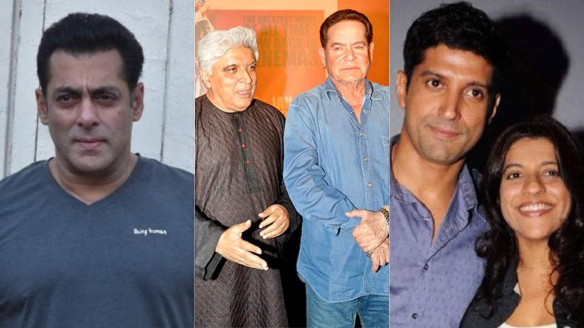 Salman Khan, Farhan Akhtar and Zoya to produce documentary titled 'Angry Young Men' on screenwriter duo Salim-Javed