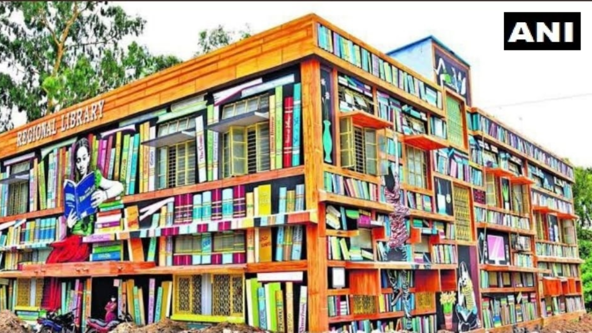 'Hope others also take inspiration': Libraries in Warangal, Telangana get a facelift; Twitterati are in awe