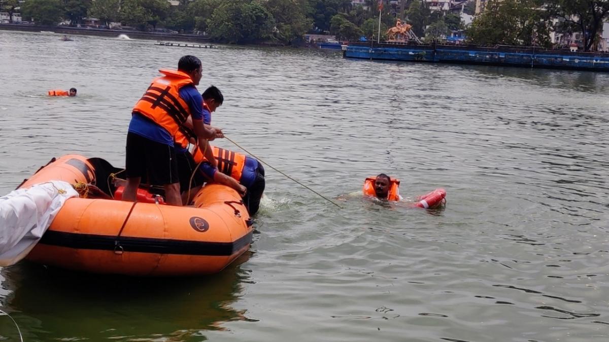In Photos: Mumbai struggles with water-logging, heavy traffic as rain lashes city