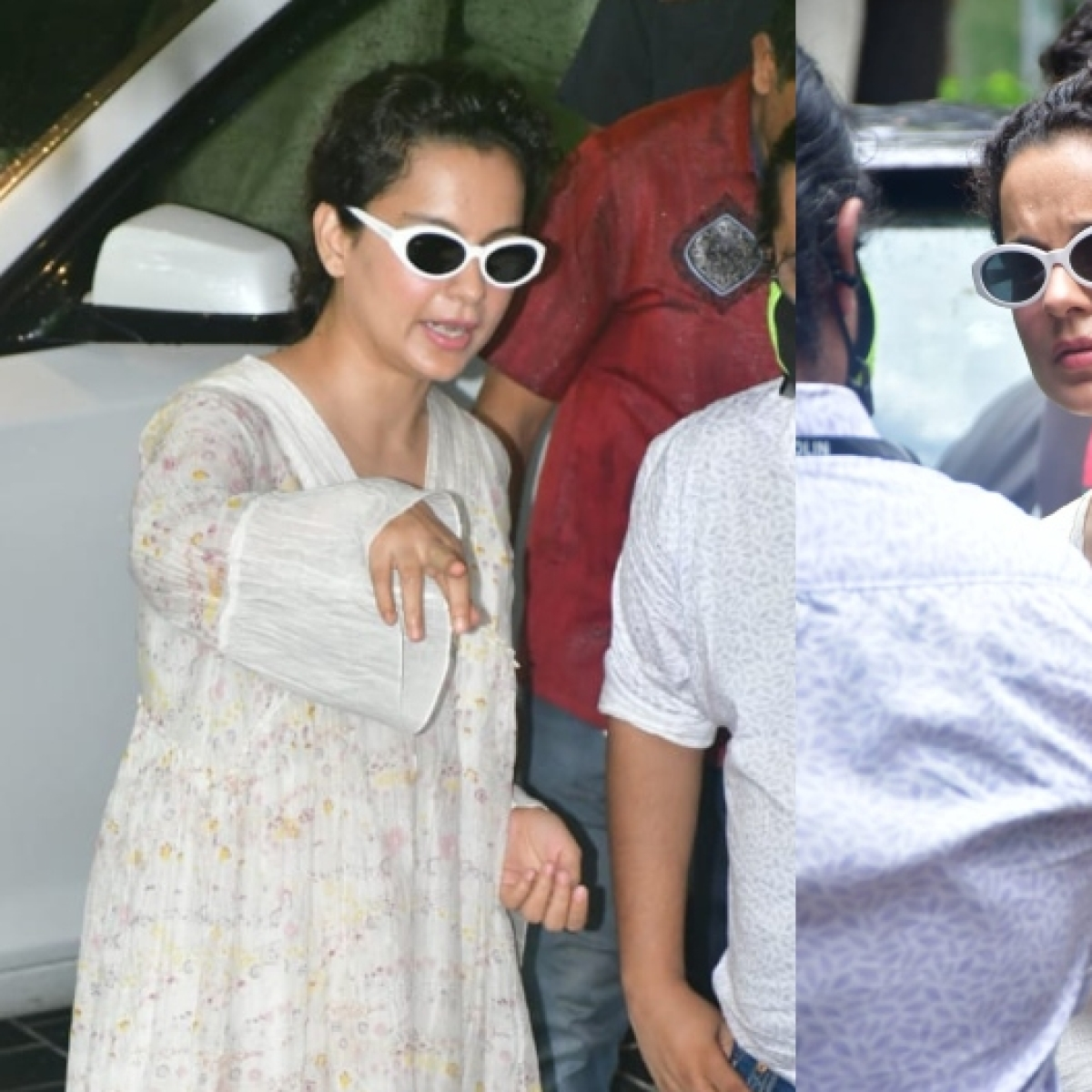 'She is corona spreader': Kangana Ranaut slammed for stepping out in Mumbai without a mask yet again