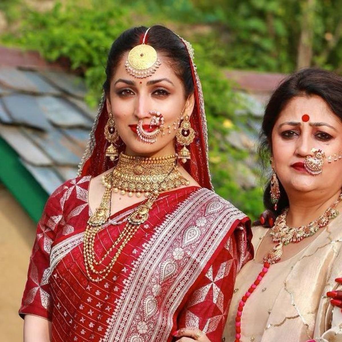 Newlywed Yami Gautam shares an unseen wedding photo on her mom's birthday with a heartfelt caption