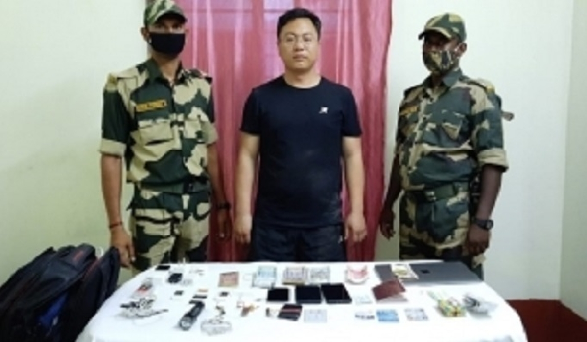'Arrested Chinese intruder a PLA-run university student'
