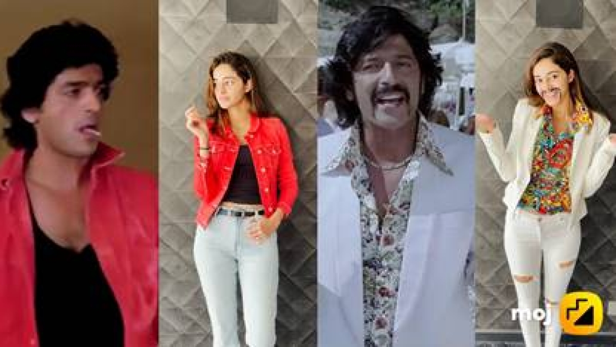 Father's Day 2021: Ananya Panday recreates dad Chunky's looks from the 90s