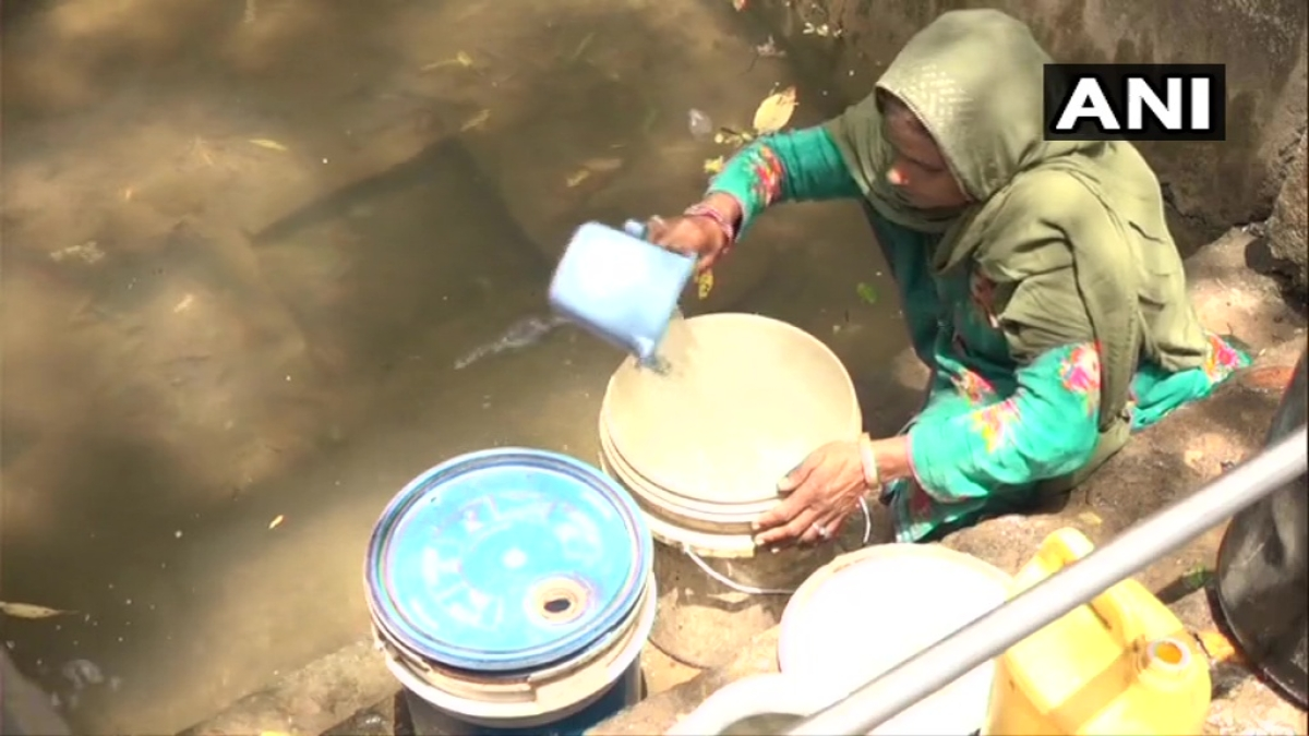 Locals in J&K village forced to drink contaminated water due acute shortage
