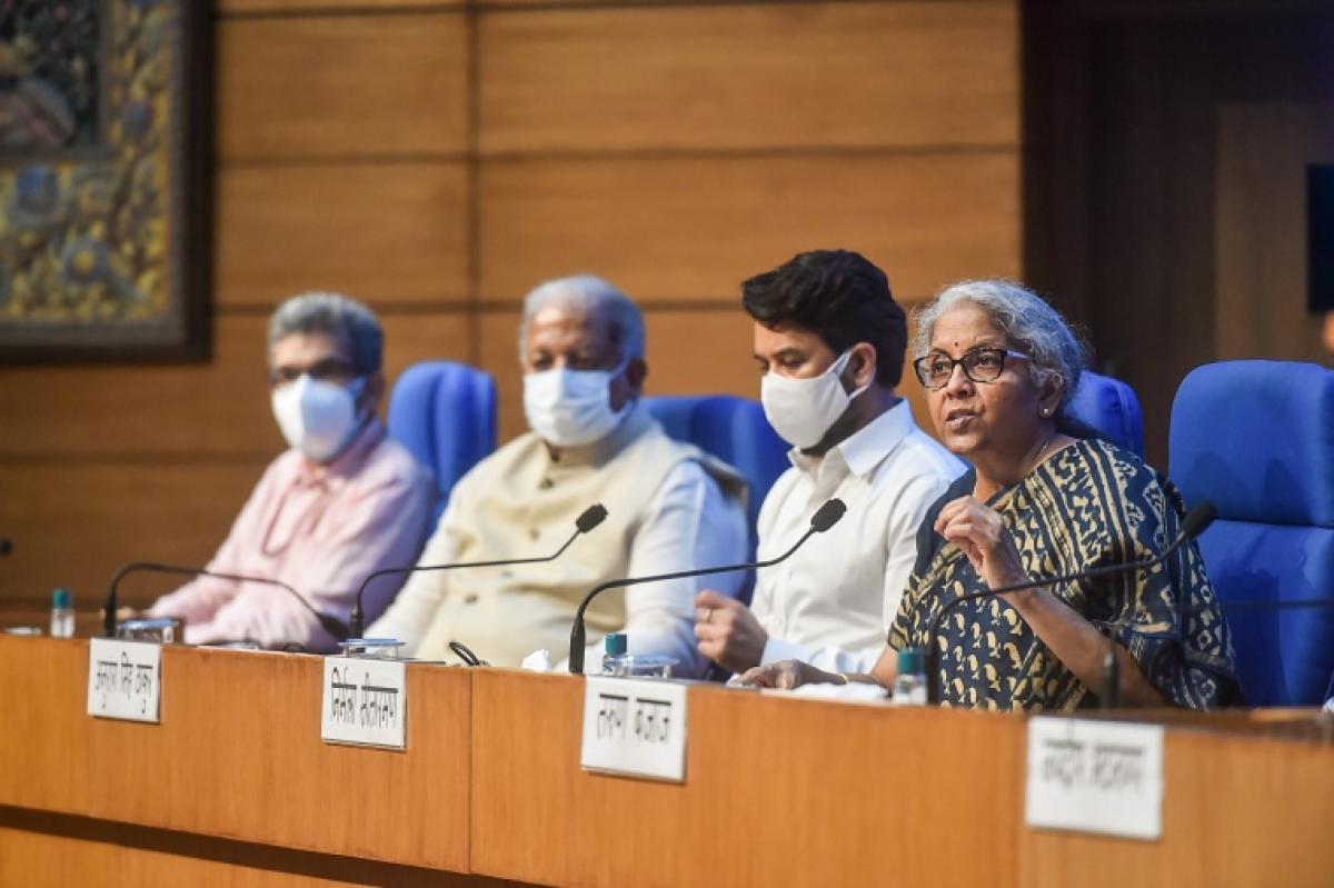 COVID-19: No tax on black fungus medicines, 5% GST on vaccines, says FM Nirmala Sitharaman