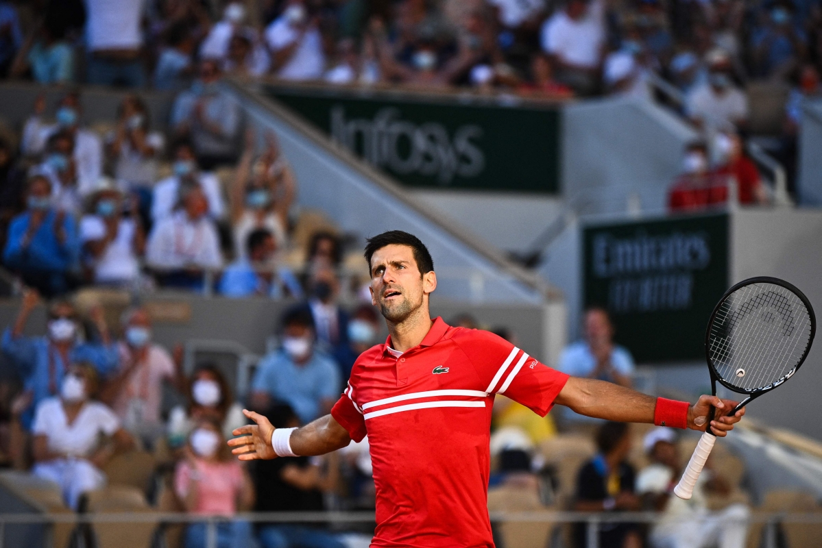 French Open 2021: Novak Djokovic defeats Stefanos Tsitsipas; wins Grand Slam title for 2nd time