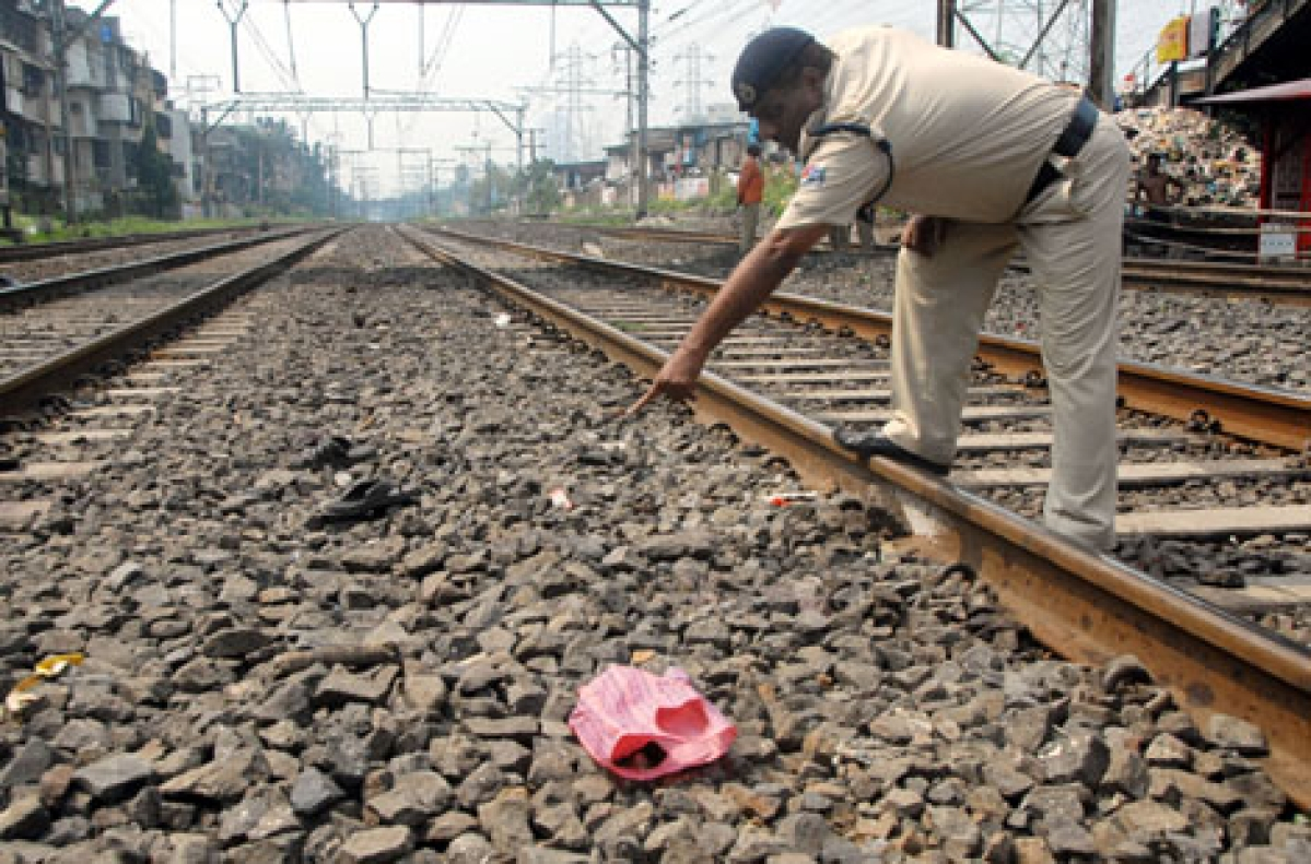 INSULT TO INJURY: On Thursday, four passengers had fallen off a crowded train between Matunga and Sion during morning peak hours. Two of these were killed