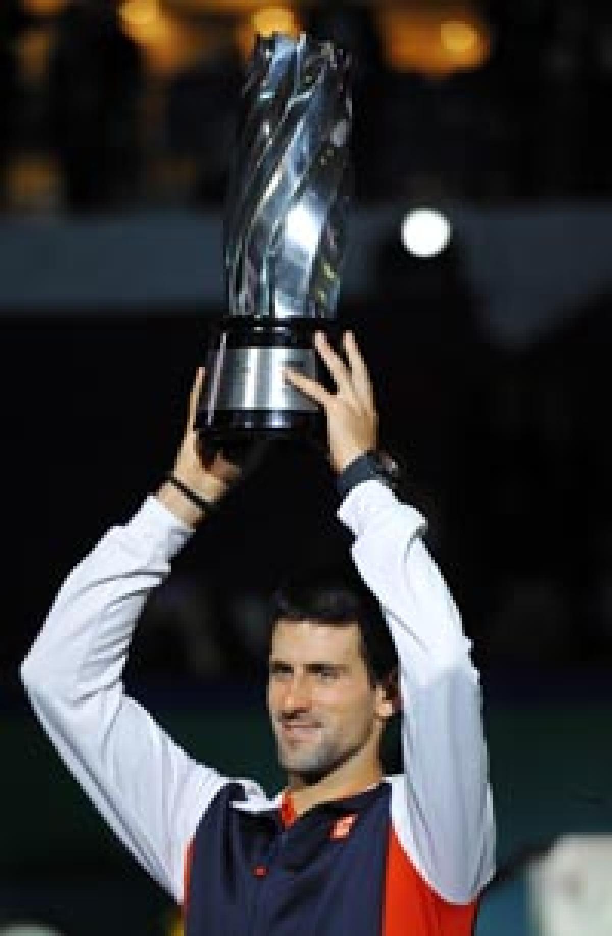 Djokovic beats Murray,  wins Shanghai Masters