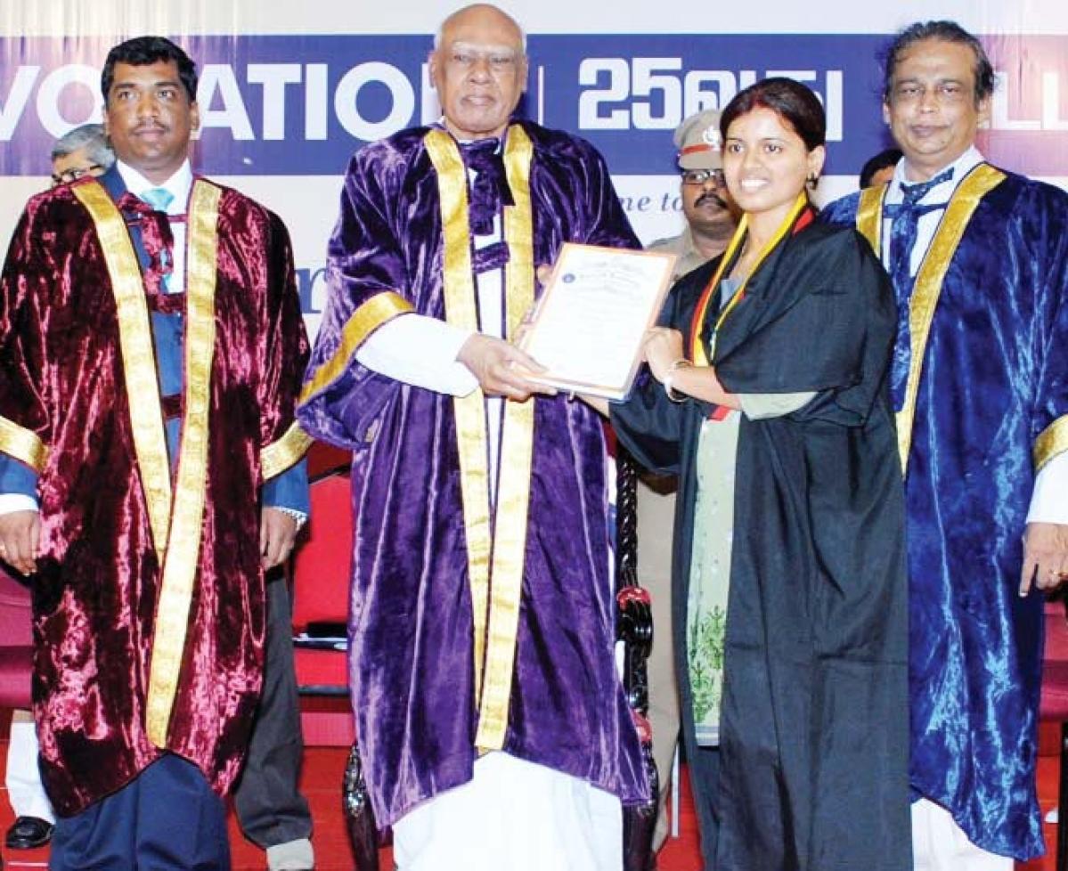 Bharath University hosts 25th Conocation Day