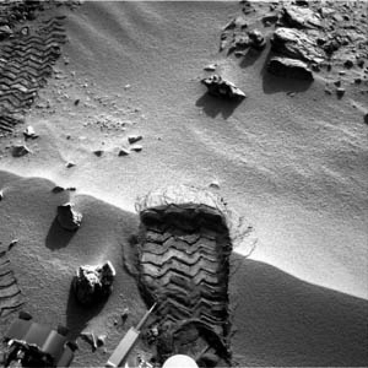Pasta rocks, new sign of life on Mars