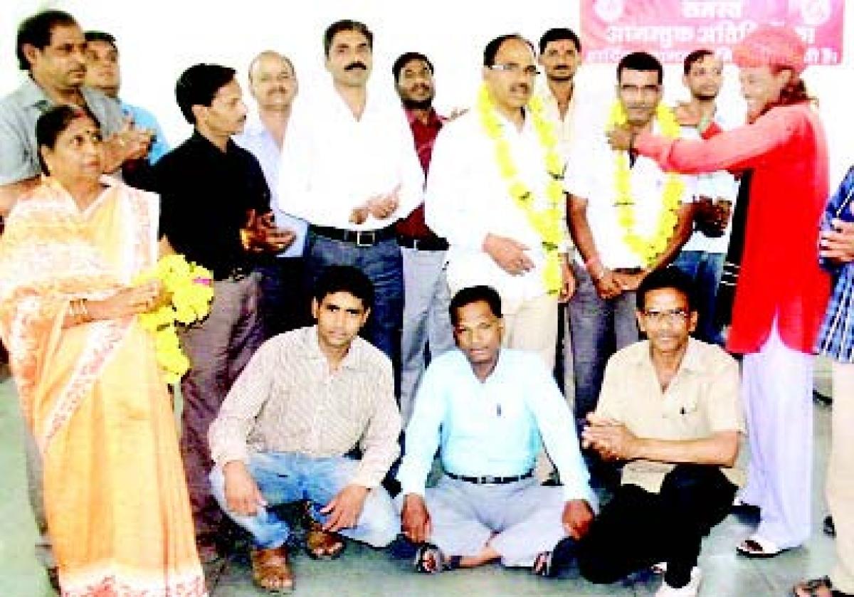 SS Sharma nominated SSDES patron