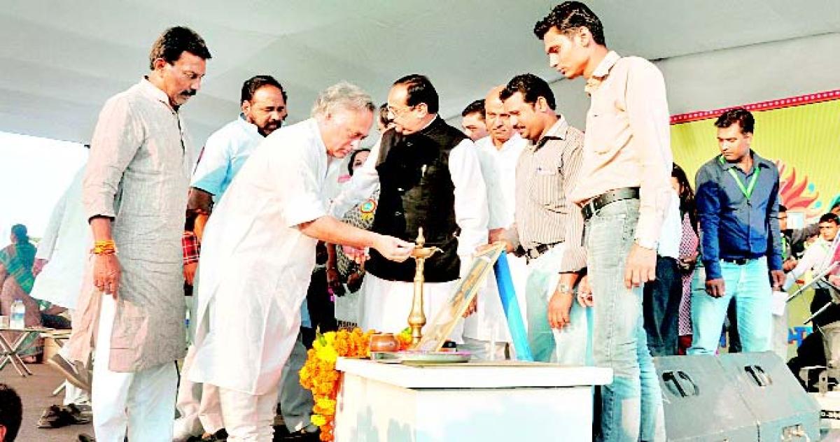 Yatra will make rural people aware of sanitation: Ramesh