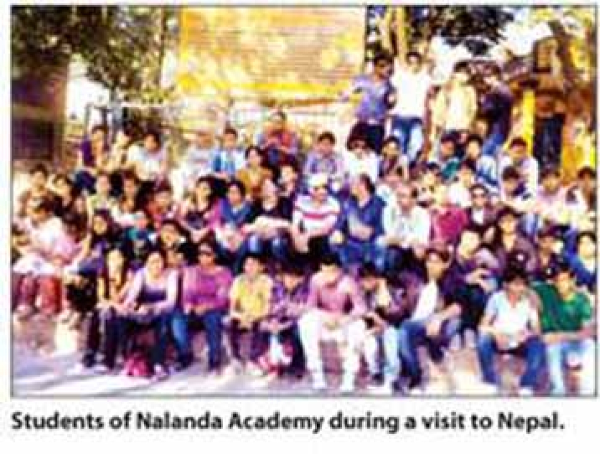 Nalanda Academy students visit Nepal