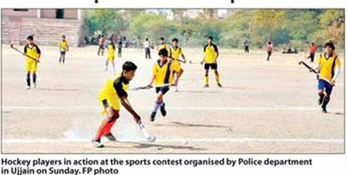 Police dept conducts sports meet
