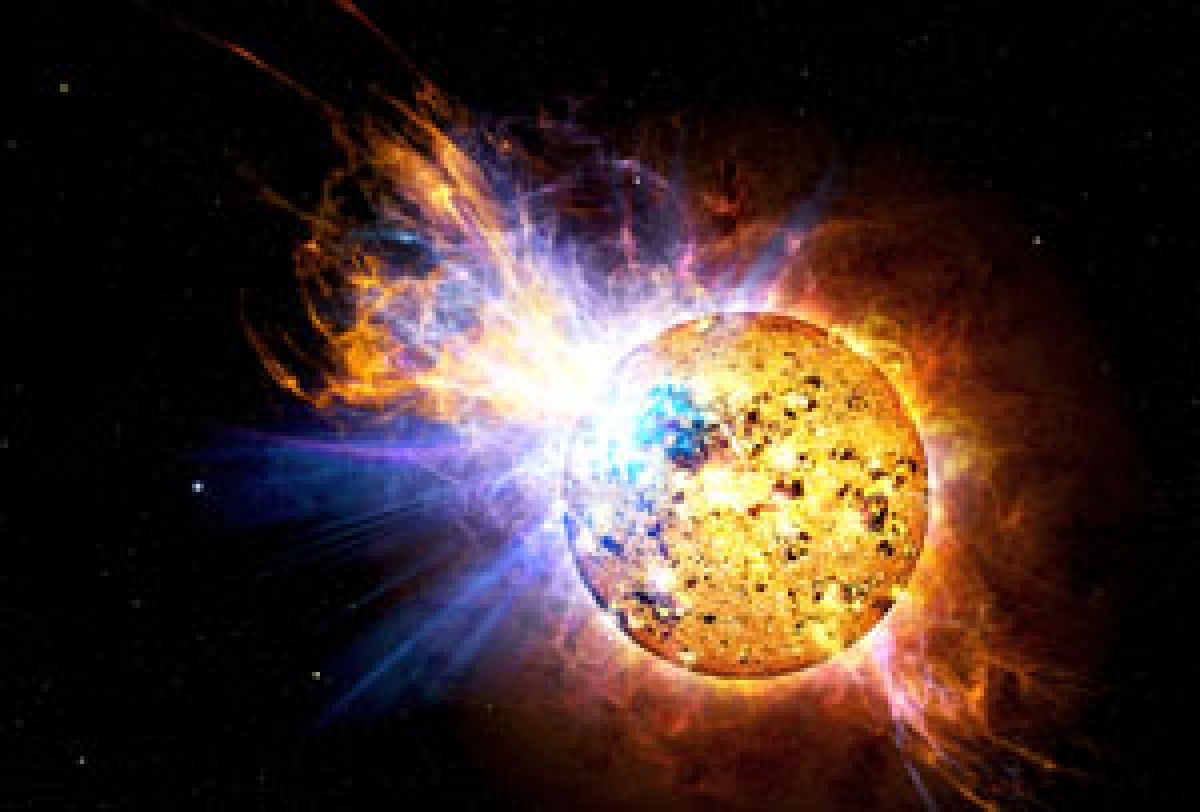 Death throes of a star show how Sun may die
