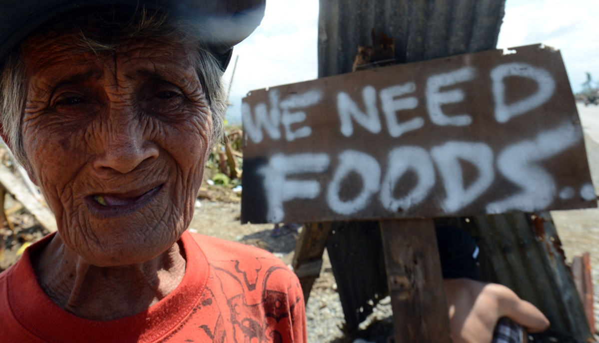 Victims beg for food after deadly Philippine typhoon