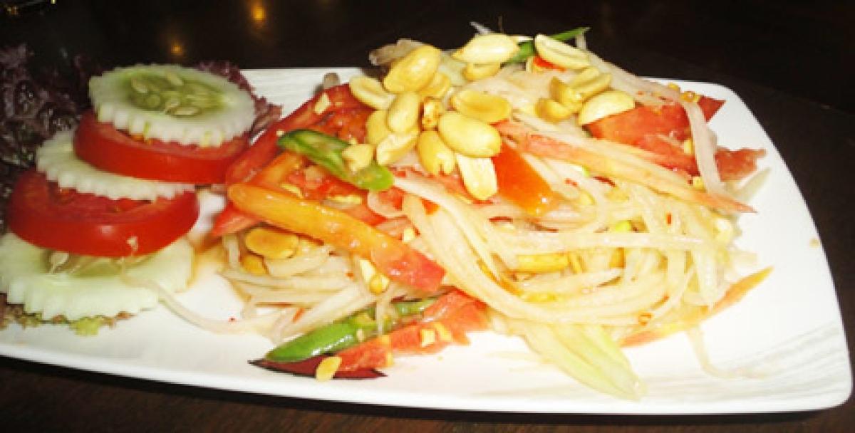 A delightfully new menu at Pan Asian