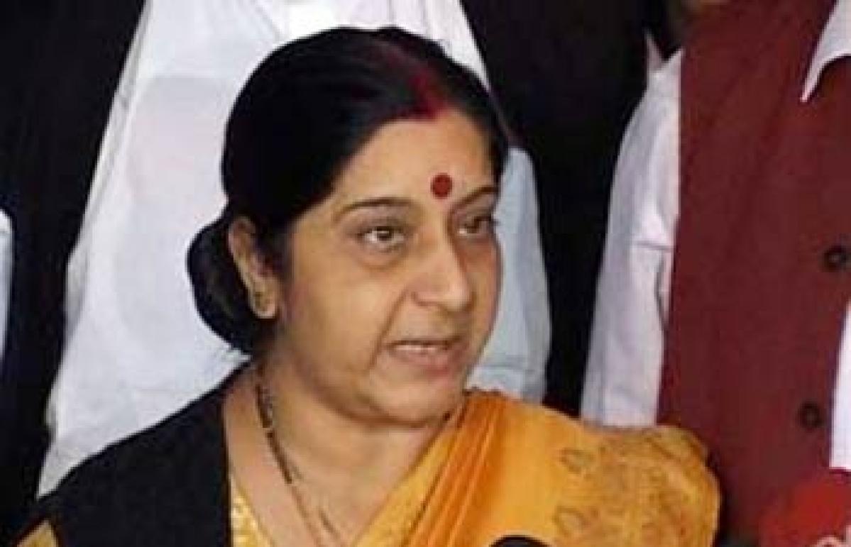Sushma more admired than Sonia Gandhi