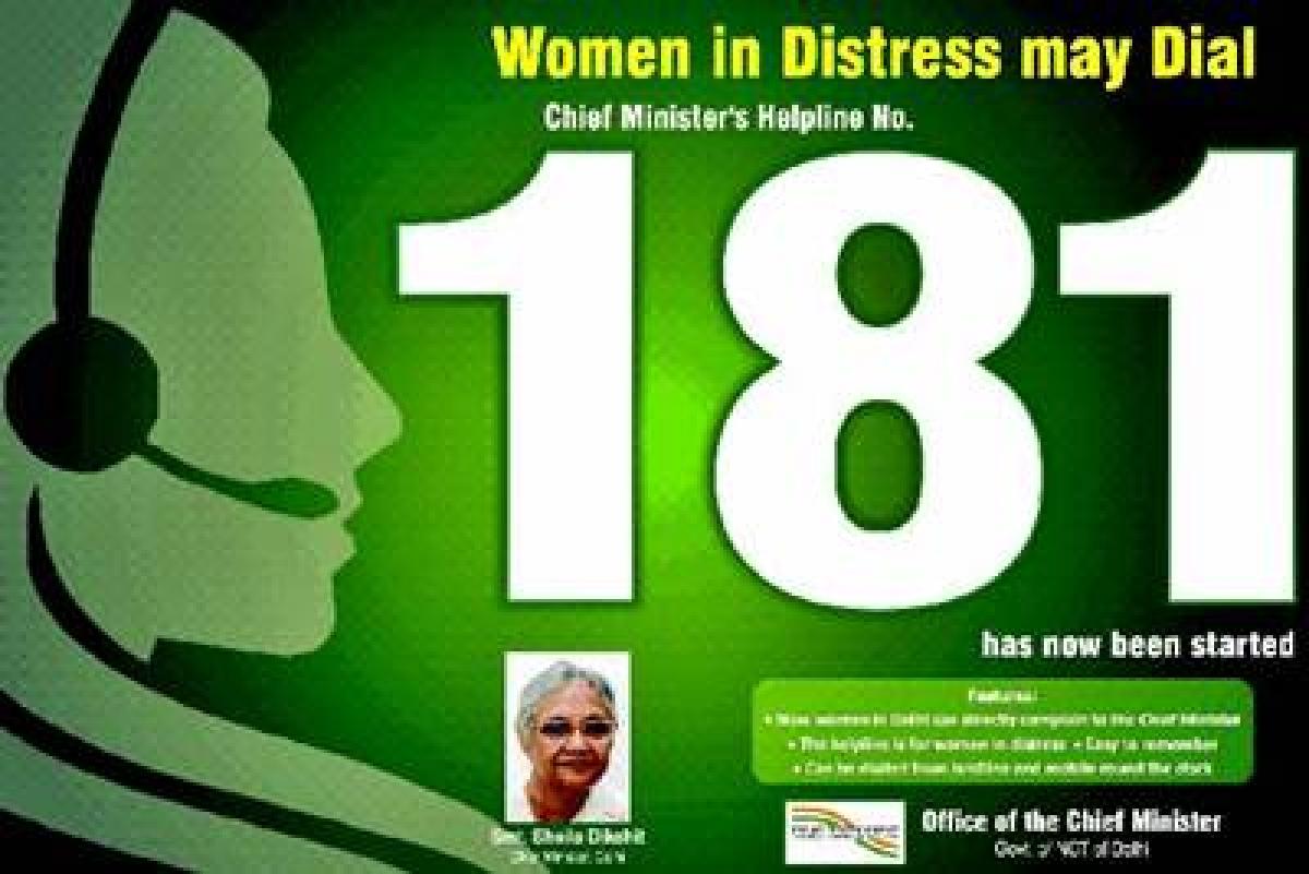 Bhopal: 181 helpline for women to work round the clock