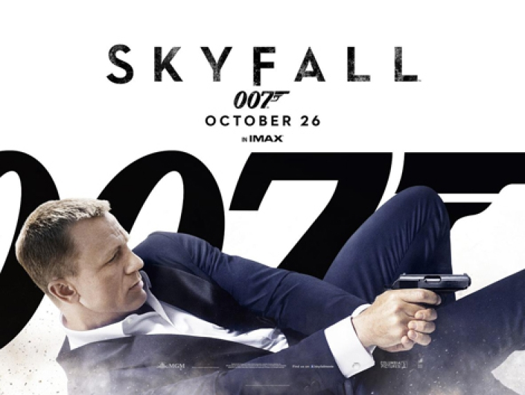 Skyfall first Bond film to get PGA nomination