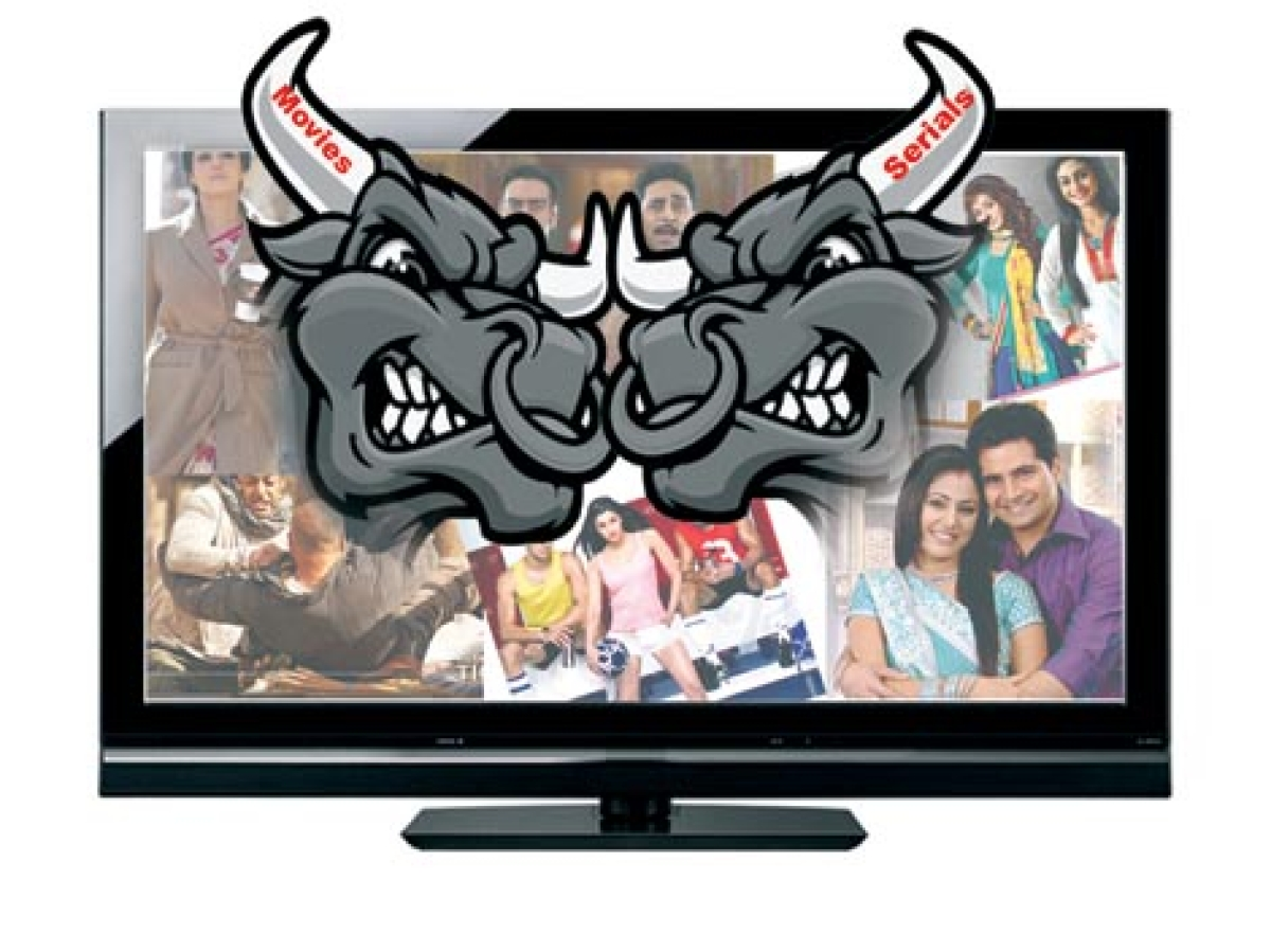 Serials Vs Movies on TV
