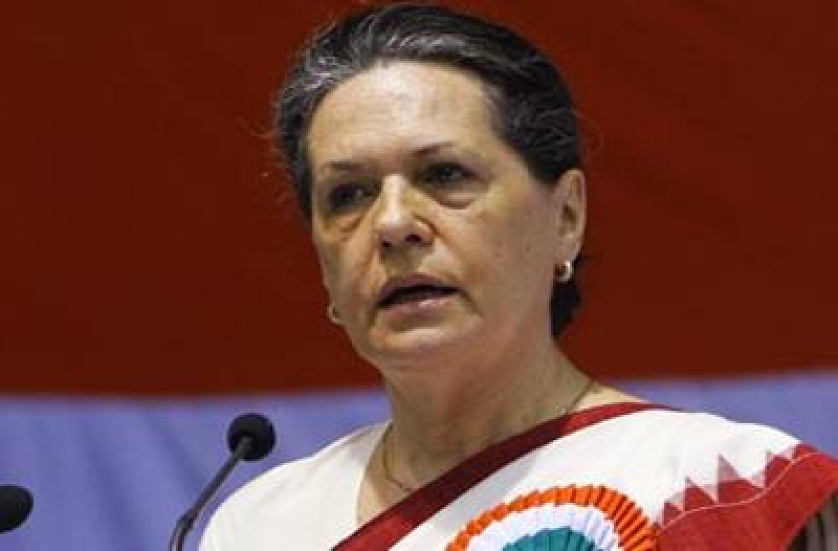 We need to pull out 7 crore families from poverty: Sonia