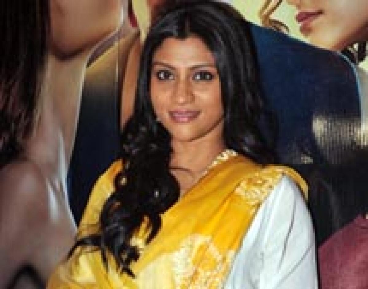 It's a wrap on Konkona Sen sharma's directorial debut