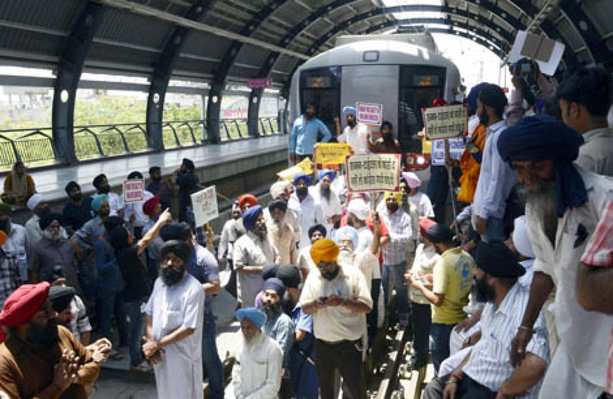 Delhi Metro: Two stations temporarily closed after clashes over CAA