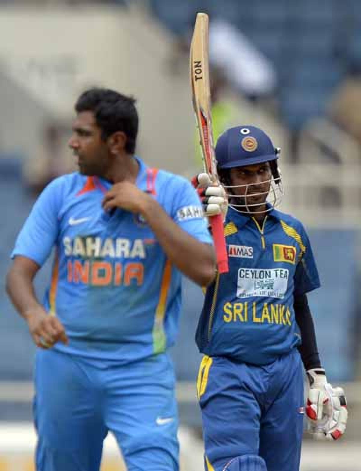 Tharanga whacks India