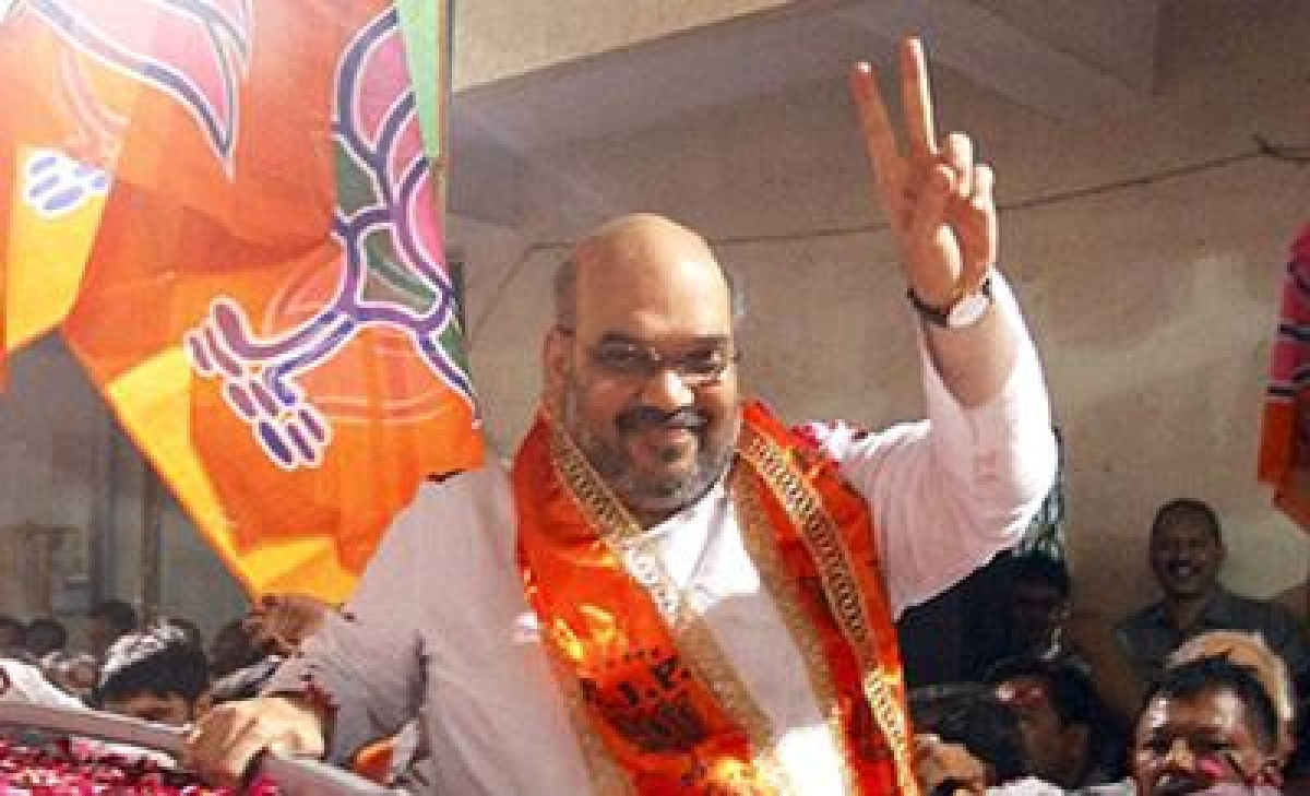 Amit Shah appointed BJP President
