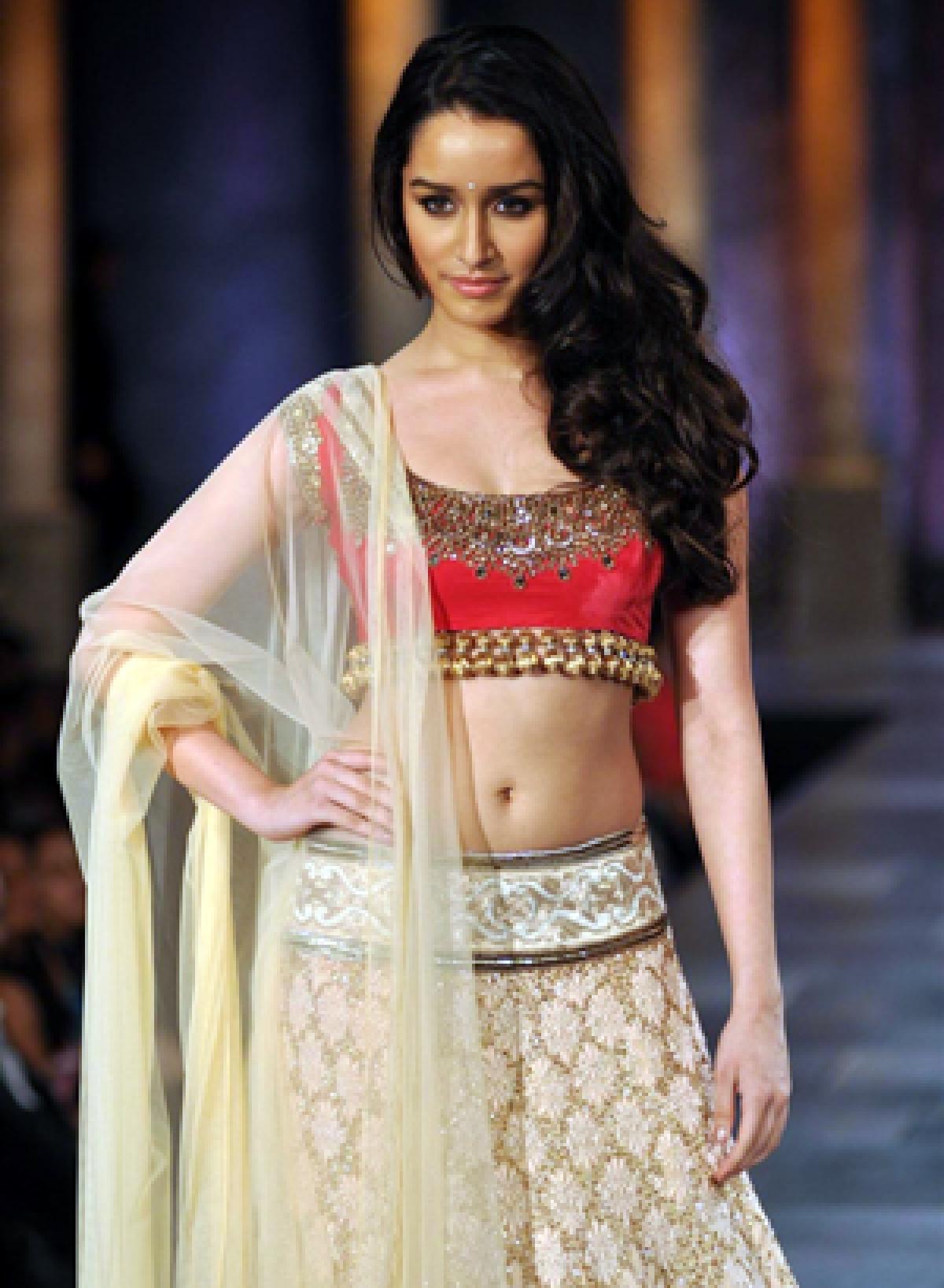 Shraddha Kapoor's skin fetish