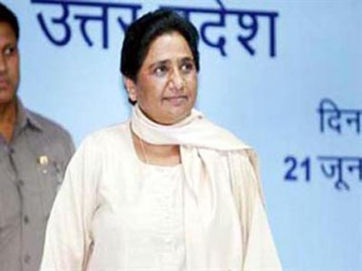 Mayawati effects reshuffle in Bahujan Samaj Party