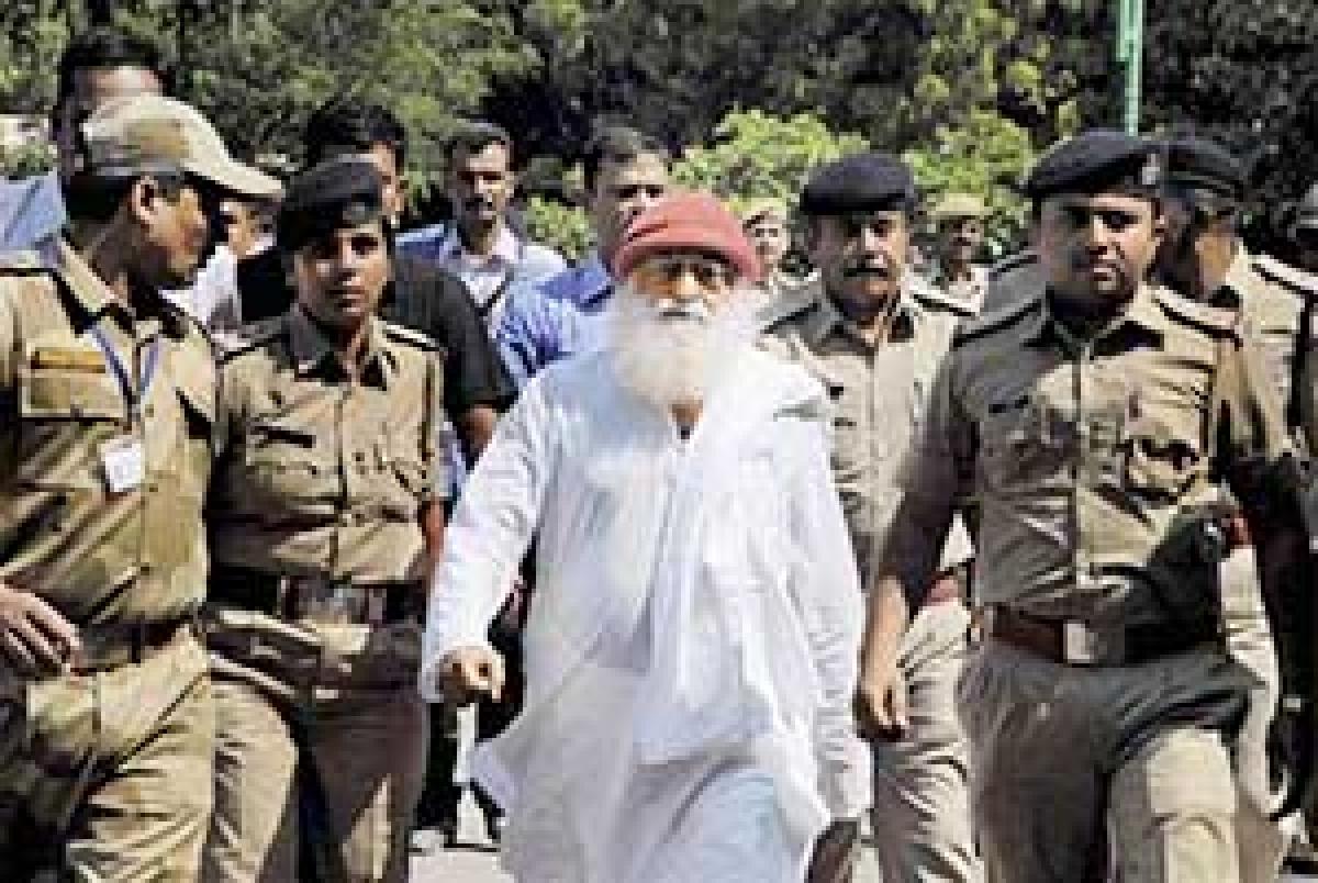Madhya Pradesh connect: Apex court  seeks Rajasthan's response on Asaram plea for treatment at Ayurvedic centre