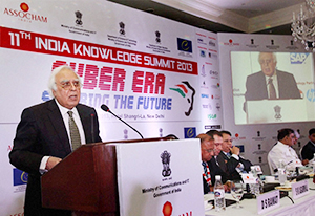 India is opposed to any control on internet: Sibal