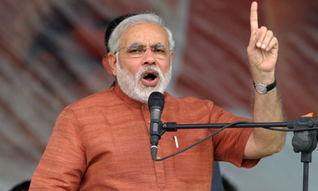Modi seeking to better Keshubhai's record in Guj in LS polls