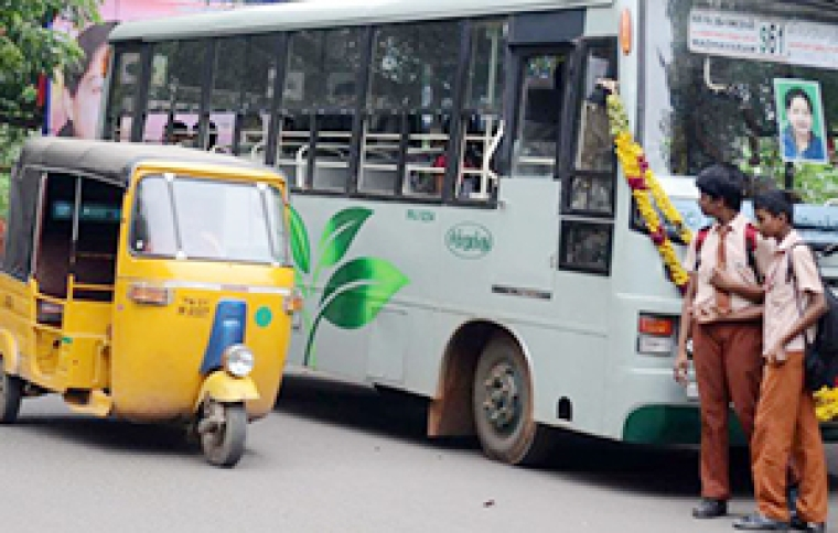Party symbol on buses:  DMK petitions EC to  derecognise AIADMK