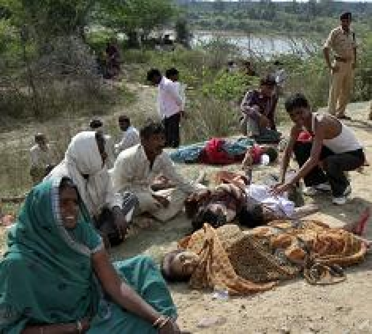 50 Uttar Pradesh people killed in MP stampede