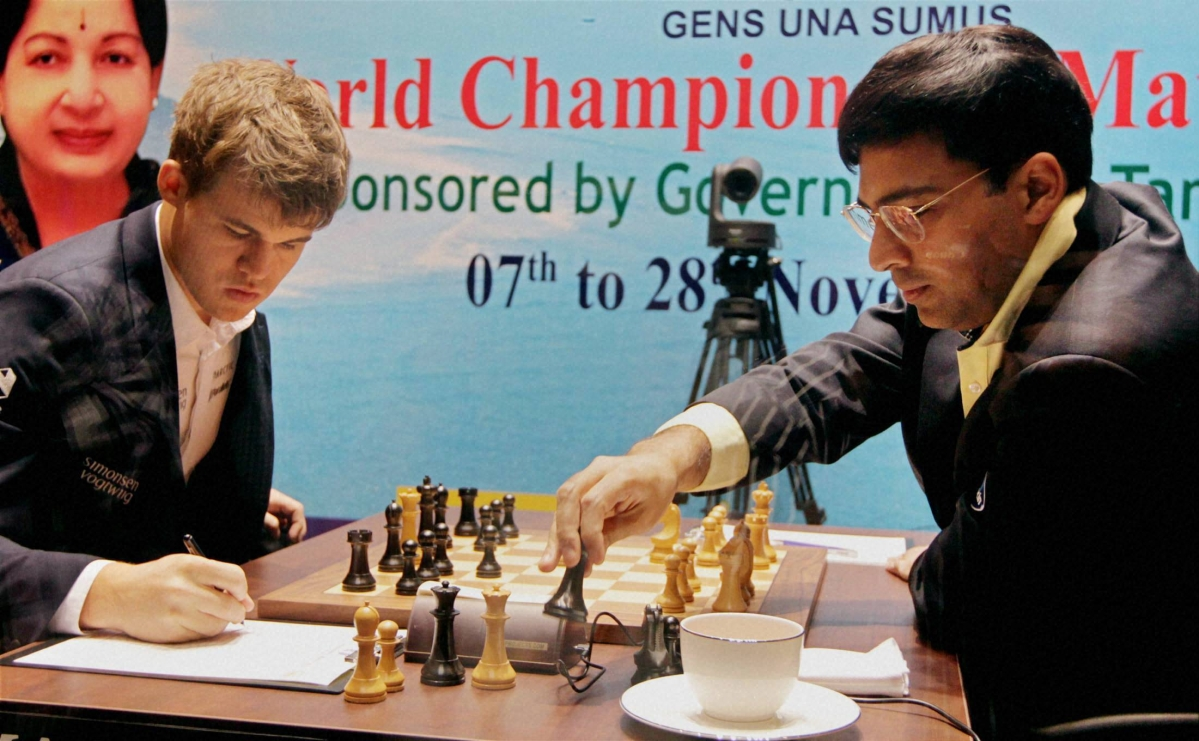 Anand salvages lost position,  settles for a fourth draw