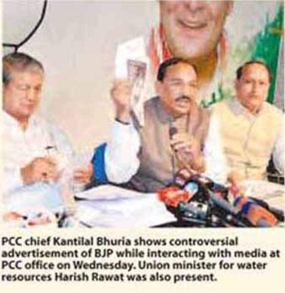 Is Chauhan ready for taller Sardar Sarovar dam, asks Rawat