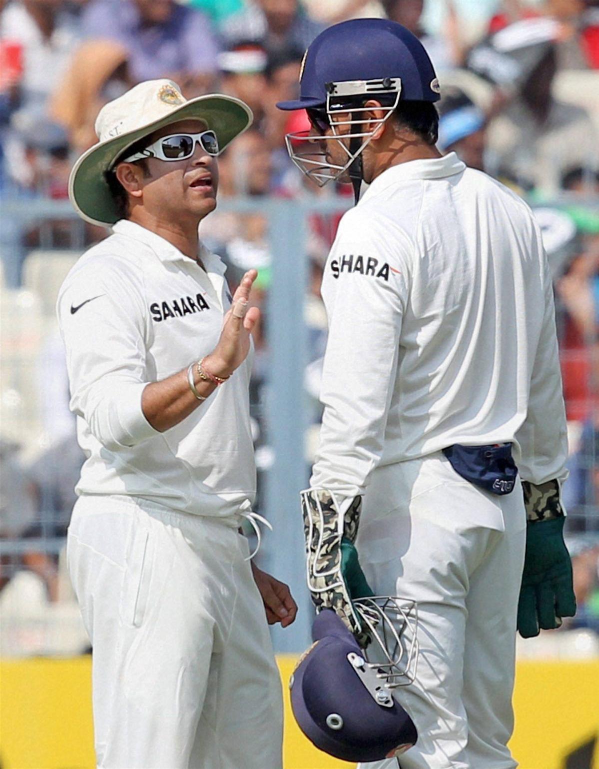Sachin gets a captain's salute