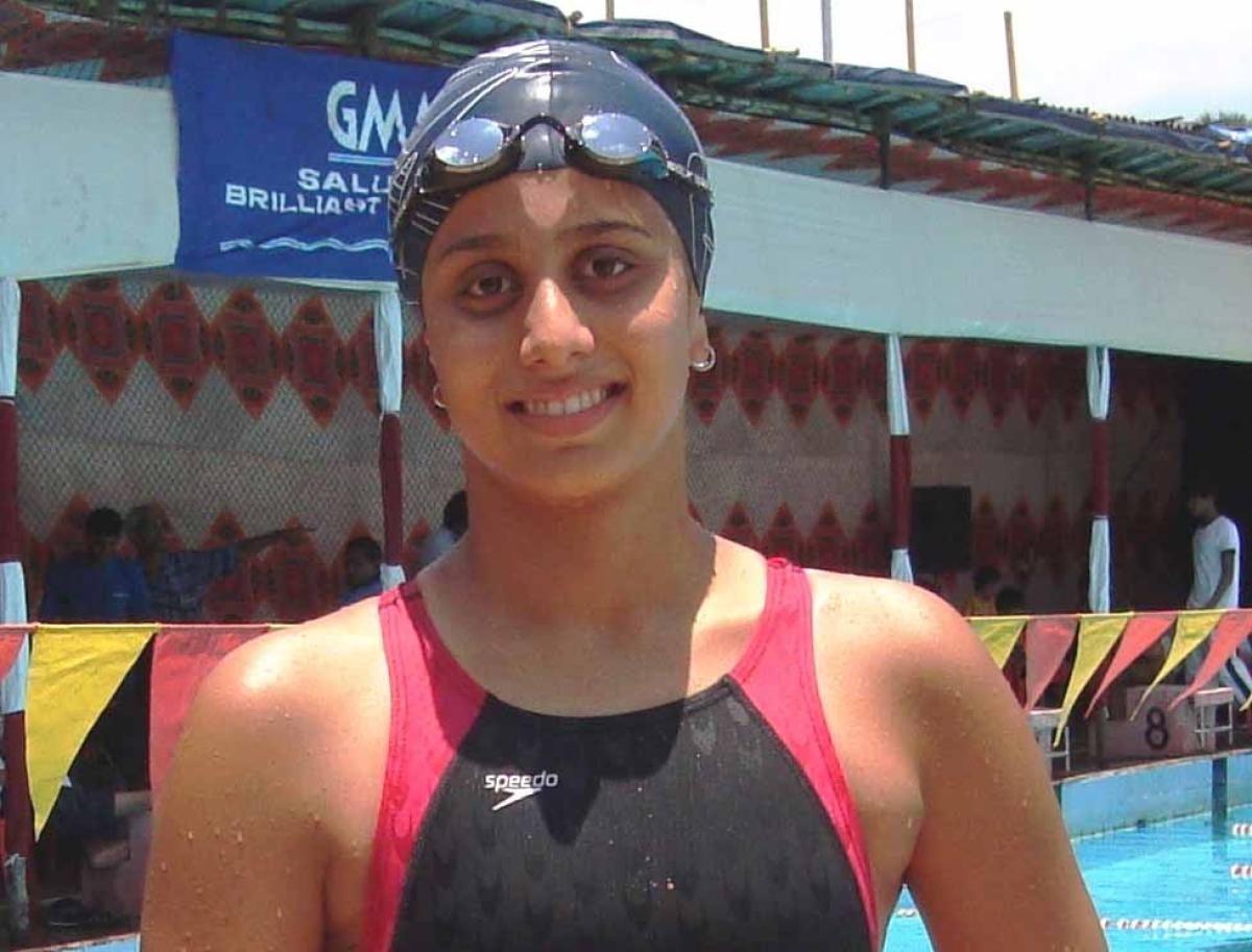 Aditi, Monique swim to victory