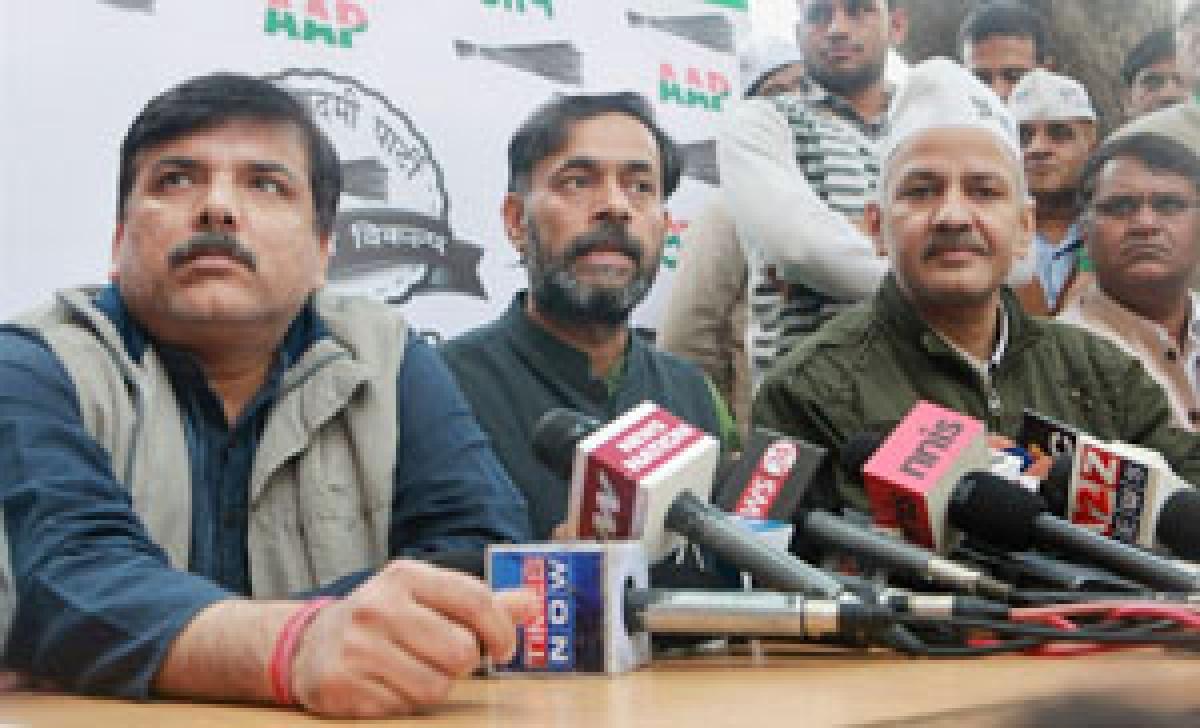 AAP wants political CDs certified by EC